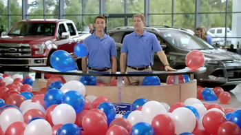 Ford: Memorial Day Sales Event: Too Many Balloons