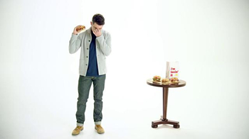 McDonald's Sirloin Third Pound Burger TV Spot, 'Crying' Ft. Max Greenfield thumbnail