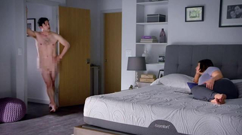 Serta iComfort Sleep System TV Spot, 'Nudist' - 86 commercial airings