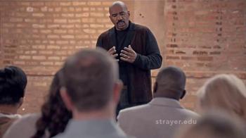 Strayer University TV Spot, 'Life Happens' Featuring Steve Harvey thumbnail