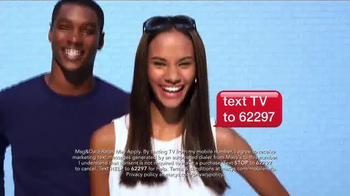 Macy's Memorial Day Sale TV Spot, 'Ride Your Way to Savings' thumbnail