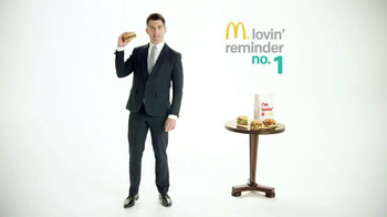 McDonald's Sirloin Third Pounders TV Spot, 'Daily Lovin' Reminder: Intro' thumbnail