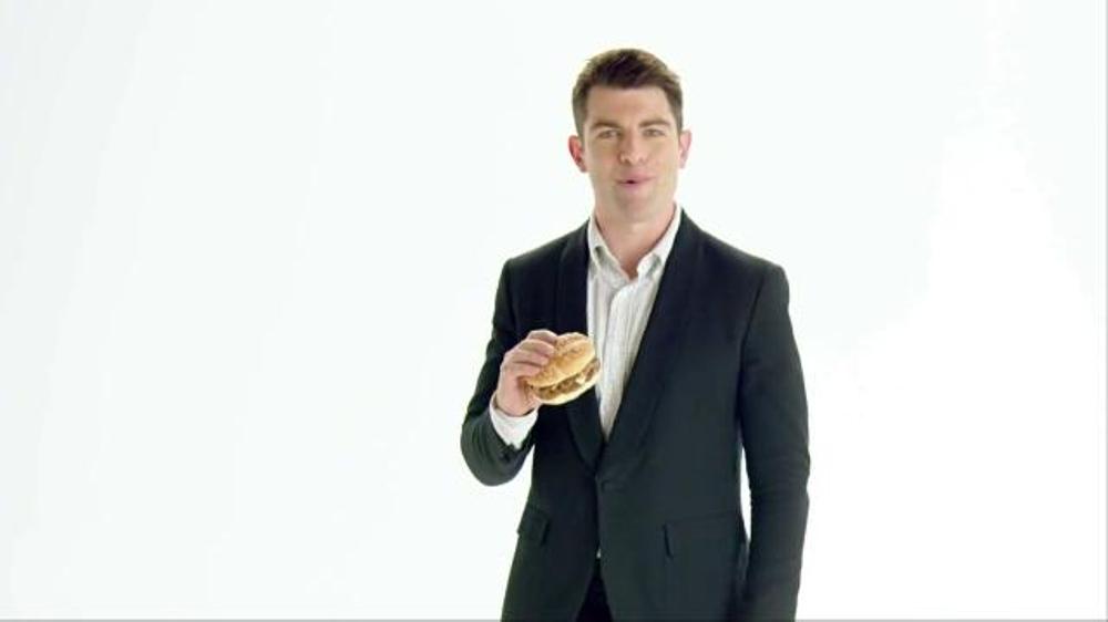 McDonald's Sirloin Third Pound Burger TV Spot, 'Reminder' Ft Max Greenfield - iSpot.tv