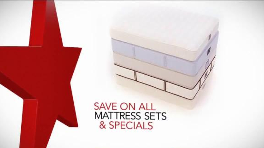 Macy s Memorial Day Mattress Sale TV mercial Big
