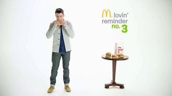 McDonald's Sirloin Third Pounder TV Spot, 'Peachy' Featuring Max Greenfield thumbnail