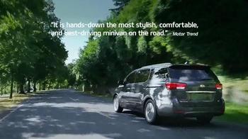 Kia Summer's On Us Sales Event TV Spot, 'Sedona Savings' thumbnail