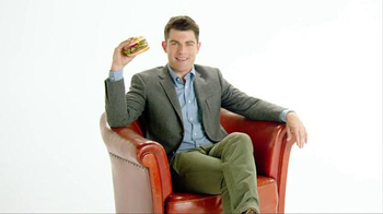 McDonald's Sirloin Third Pound Burger TV Spot, 'Tomato' Ft. Max Greenfield thumbnail