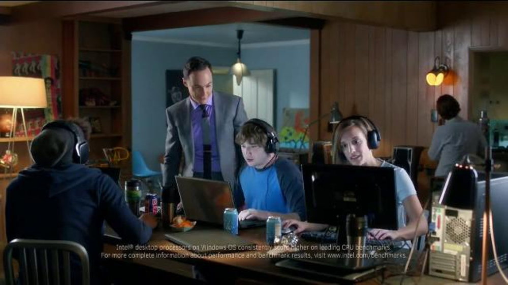 Intel Core i7 Processor TV Spot, 'Gamers' Featuring Jim Parsons
