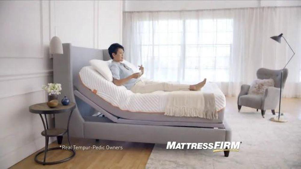 Mattress Firm TV mercial Enjoy Your Tempur Pedic