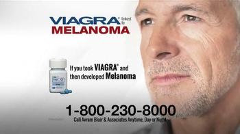 Avram Blair & Associates TV Spot, 'Viagra Linked to Melanoma'
