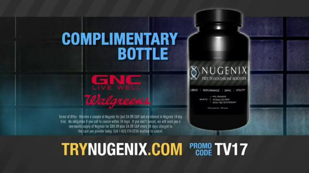 Nugenix TV Commercial, 'Test Your Manhood' - iSpot.tv