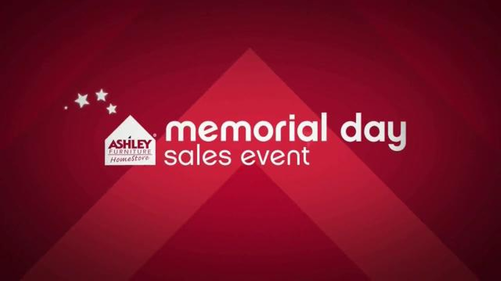 Ashley Furniture Homestore Memorial Day Sales Event TV Commercial  1000 x 562