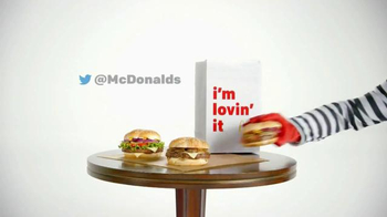 McDonald's Sirloin Third Pound Burgers TV Spot, 'Reason to Hurry' thumbnail