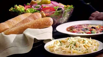 Olive garden tuscan trios lunch tv commercial 39 soup salad and breadsticks 39 for Soup salad and breadsticks olive garden