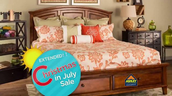 Ashley Furniture Homestore Christmas in July Sale TV Spot, 'Extended!'