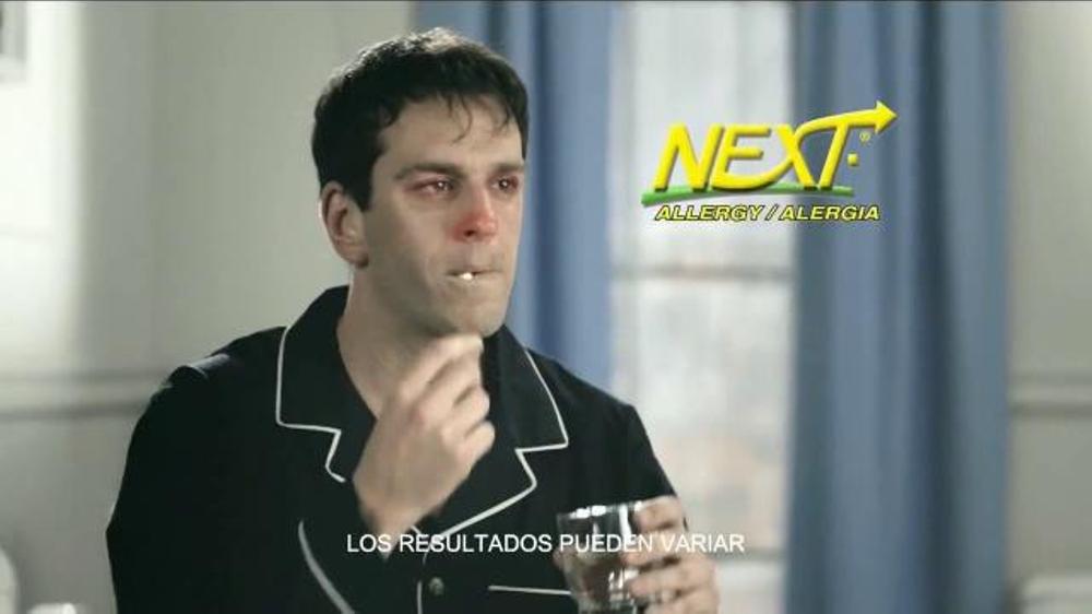 Next Allergy TV Spot, 'Ácaros de Polvo' [Spanish]