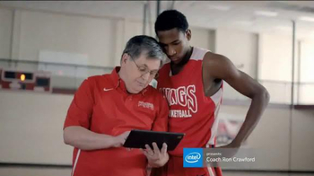 Intel TV Spot, 'Intel-Powered Tablets with Coach Ron Crawford'
