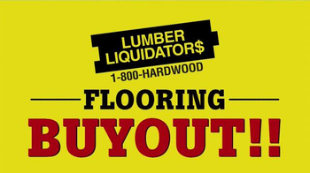 Lumber Liquidators Flooring Buyout TV Spot