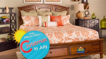 Ashley Furniture Homestore Christmas in July Sale TV Spot