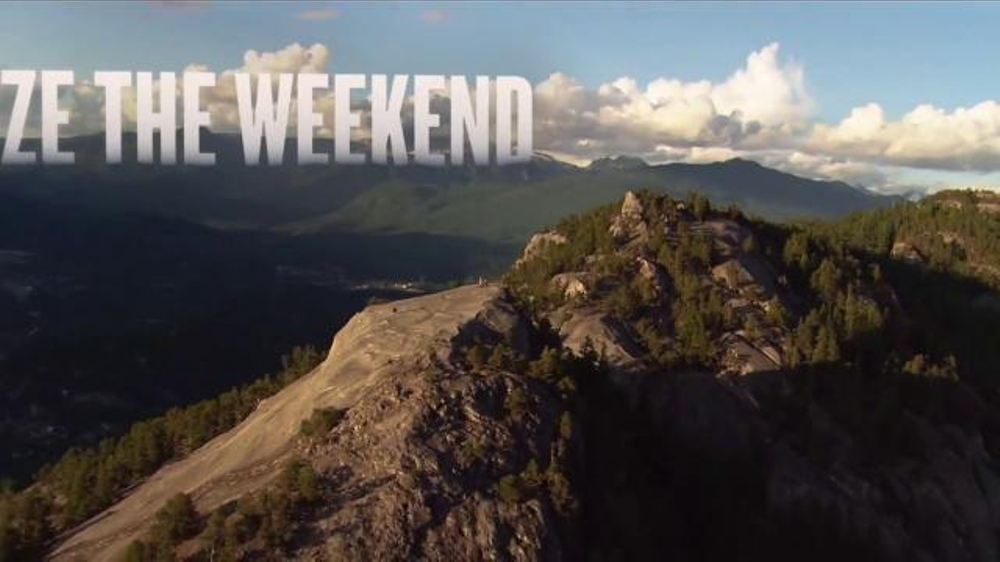 Tourism British Columbia TV Commercial, 'Seize the Weekend