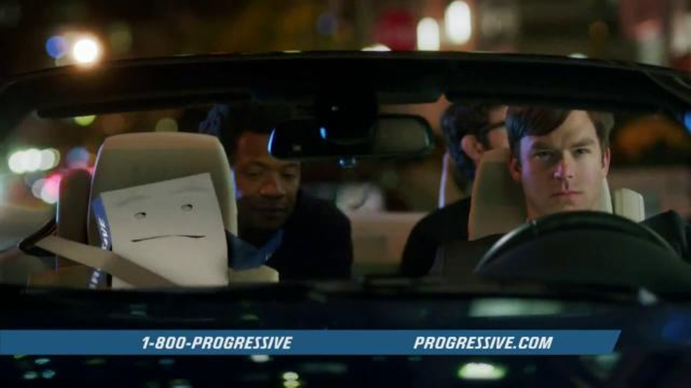 Progressive Snapshot TV Spot, 'Night Out' Featuring Chris Parnell - 10431 commercial airings