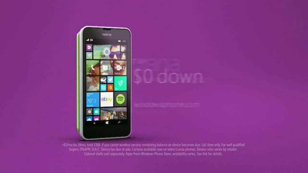 Microsoft Windows Phone TV Spot, 'Siri vs. Cortana: Happy Anniversary' - Screenshot 10