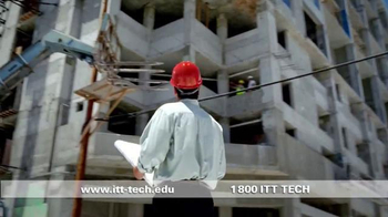 ITT Technical Institute TV Spot, 'Build Something'