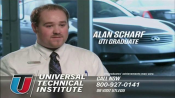 Universal Technical Institute (UTI) TV Spot, 'Transform Your Future'