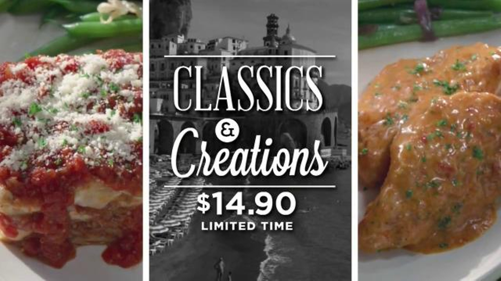Carrabba 39 S Grill Classics Creations Tv Spot 39 Discover Something New 39