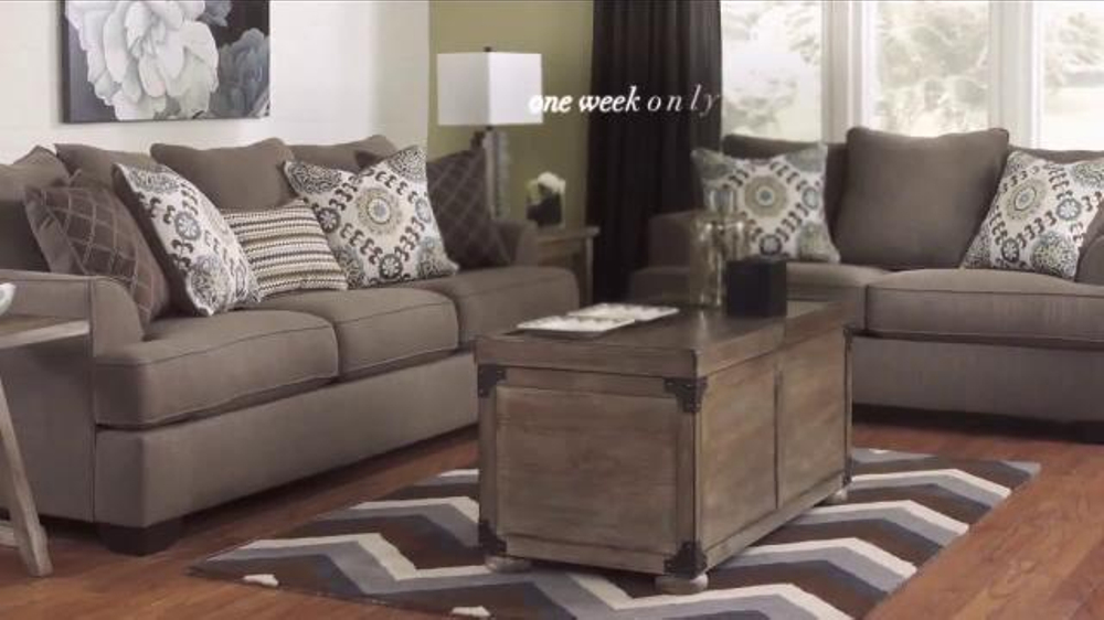 Ashley Furniture Homestore National Sale Clearance Event Tv Commercial