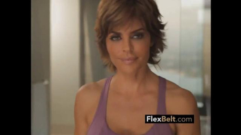 The Flex Belt TV Spot, 'This is the Button' Featuring Lisa Rinna