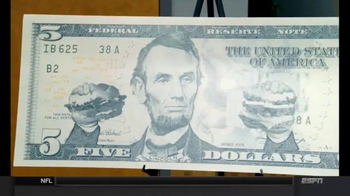 Burger King: New $5 Bill