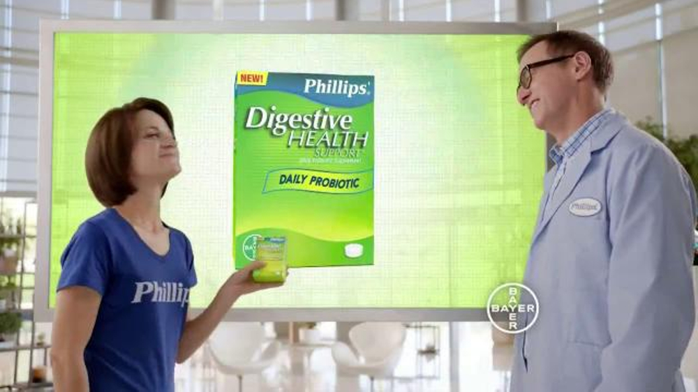 Phillips Digestive Health Support TV Spot