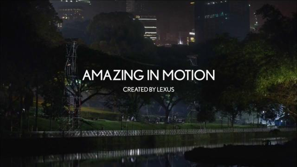 Lexus TV Spot, 'Amazing in Motion: Strobe' Song by Computer Magic - Screenshot 1