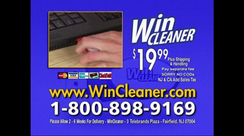 Win Cleaner TV Spot