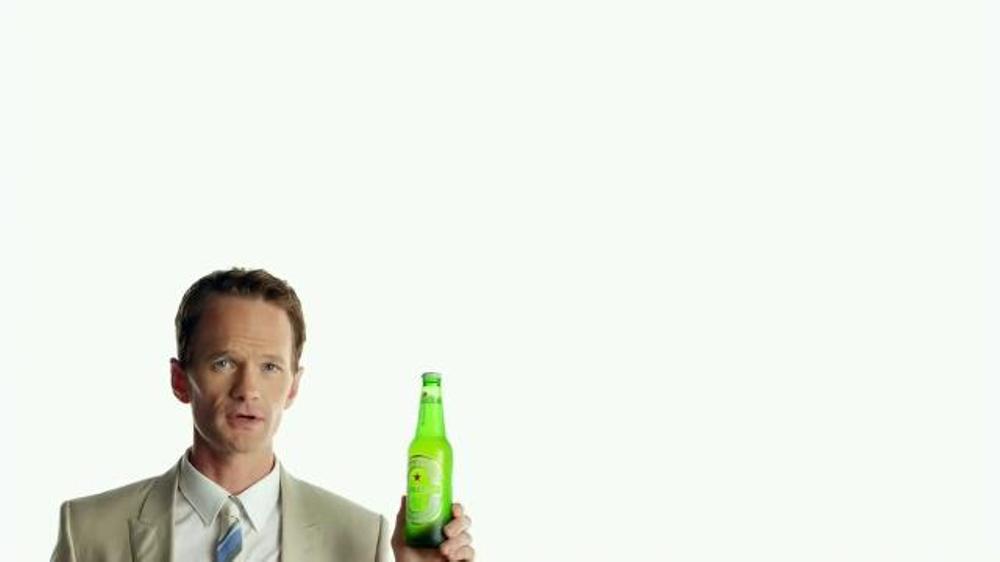 Heineken TV Spot, 'Rules' Featuring Neil Patrick Harris