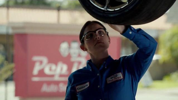 PepBoys Buy 3 Select Tires Get the 4th Free TV Spot, 'Tires Made Easy'