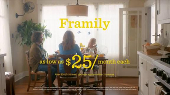 Sprint Framily Plan TV Spot, 'Meet the Frobinsons'