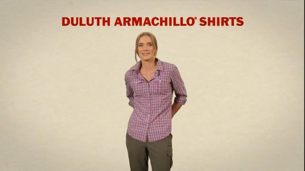 Duluth trading armachillo shirts tv commercial for Duluth t shirt commercial