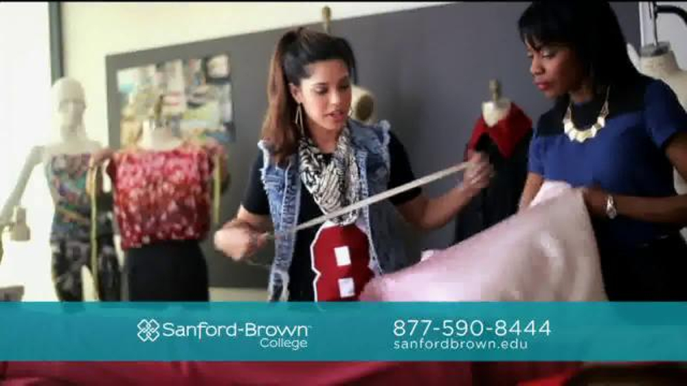 Sanford brown college tv spot fashion merchandising screenshot 3