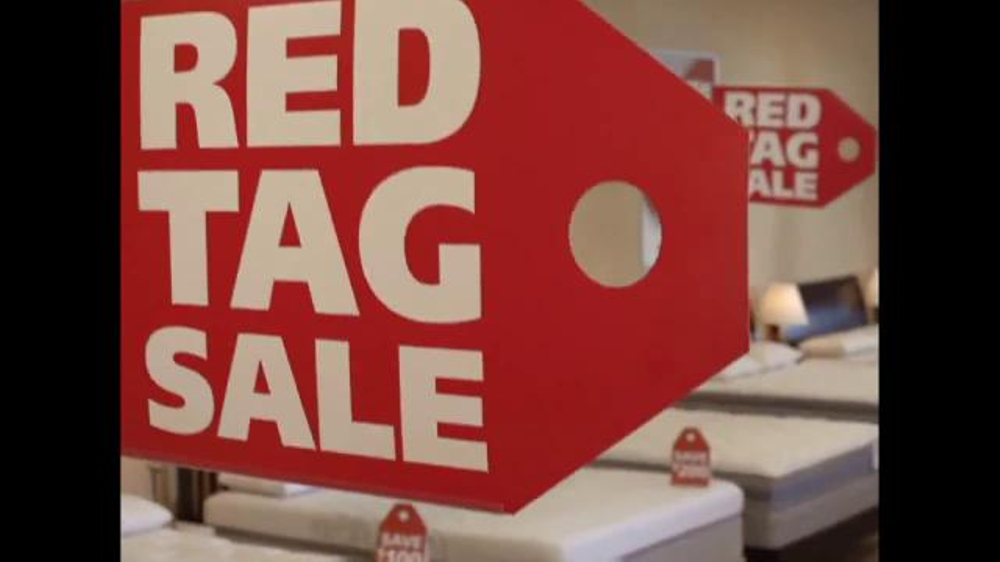 Mattress Discounters Red Tag Sale TV mercial iSpot