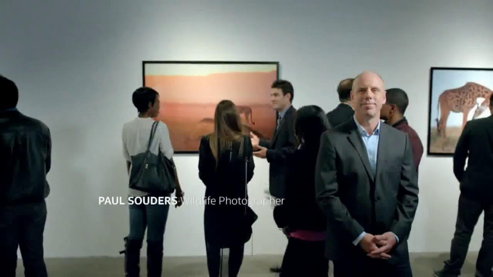 Intel Tablets TV Spot, 'Wildlife Photographer Paul Soulders' - Screenshot 2
