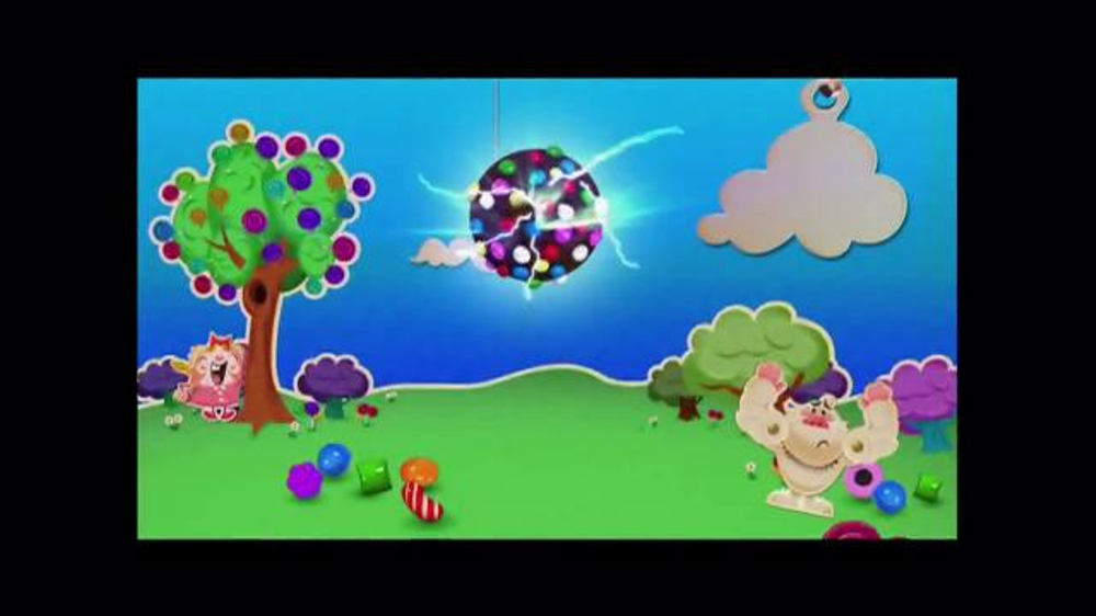 Candy Crush Saga TV Spot, 'Color Bomb' - Screenshot 4