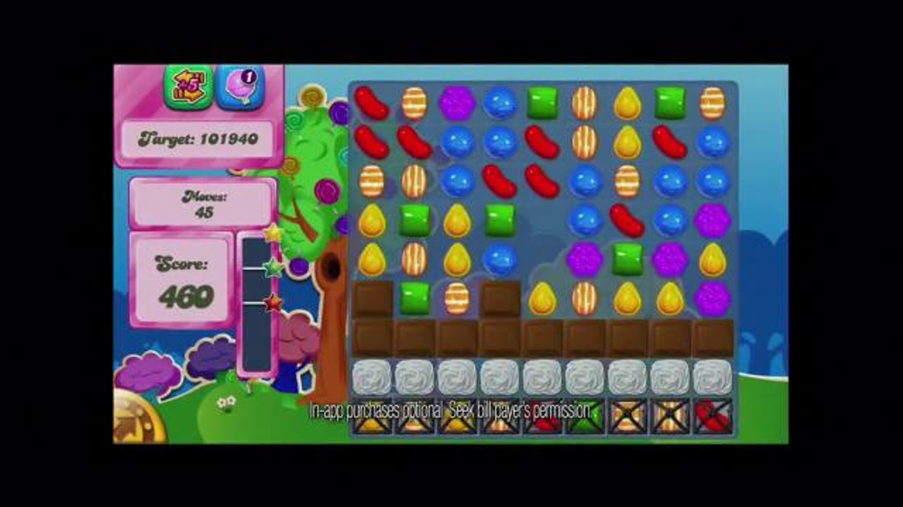 Candy Crush Saga TV Spot, 'Color Bomb' - Screenshot 5