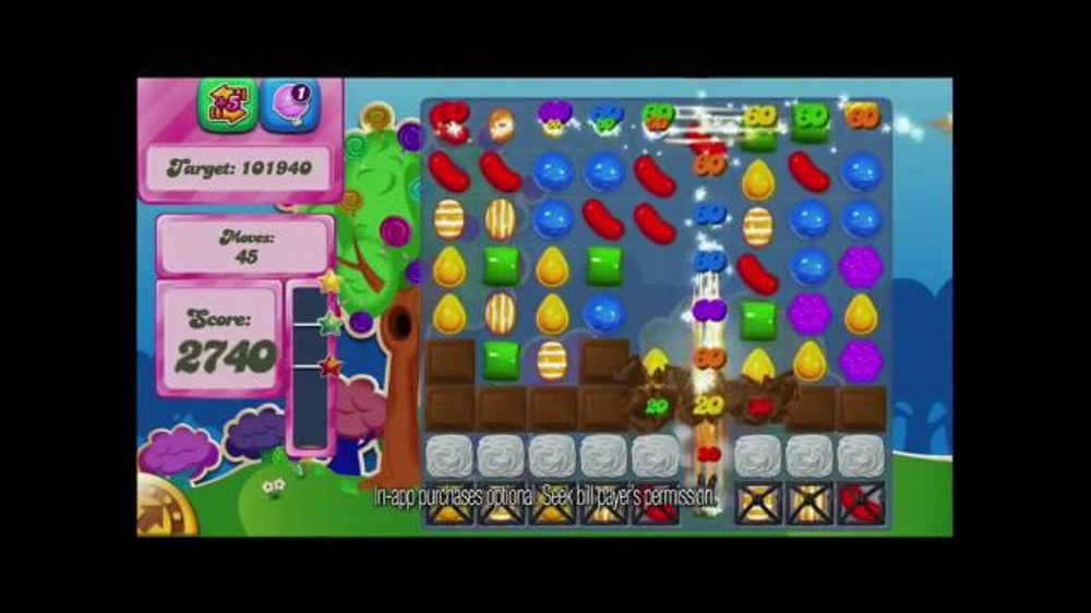 Candy Crush Saga TV Spot, 'Color Bomb' - Screenshot 6