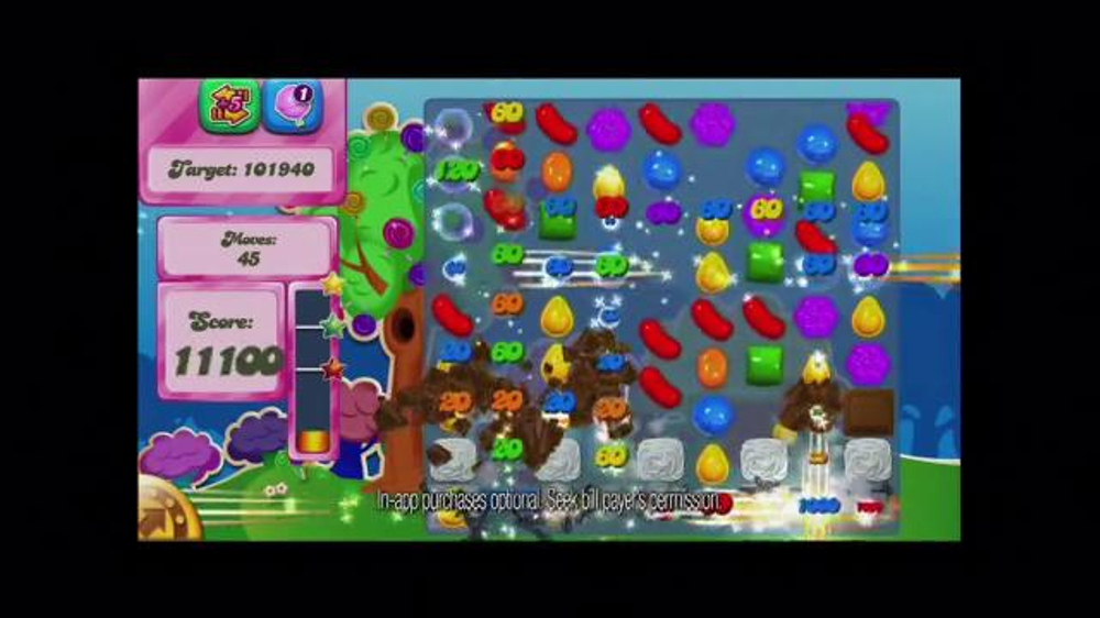 Candy Crush Saga TV Spot, 'Color Bomb' - Screenshot 7
