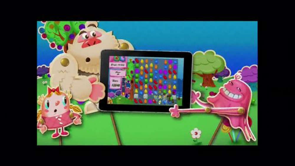 Candy Crush Saga TV Spot, 'Color Bomb' - Screenshot 8