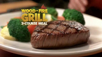 Outback Steakhouse: Wood-Fire Grill 3-Course Meal