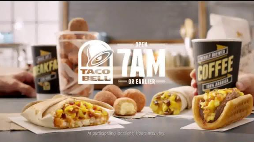 Taco Bell Breakfast Menu TV Spot, 'Ronald McDonald' - Screenshot 10