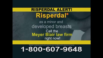 Meyer Blair TV Spot, 'Risperdal Alert'